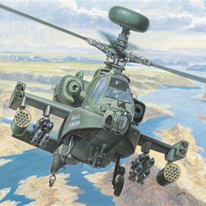 Italeri AH-64 D Apache Longbow 1/72 Scale 080