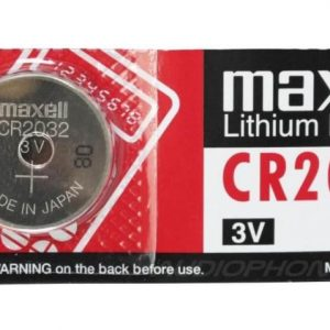 Maxell CR2032 3V Micro Lithium Button Coin Cell Battery