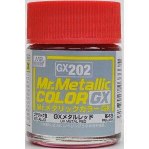 Mr Color Metal Red Metallic GX202
