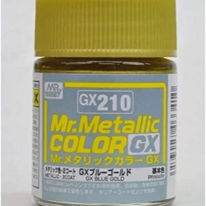 Mr Color Metal Blue Gold Metallic GX210