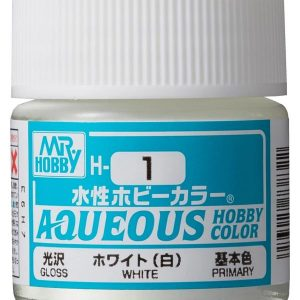 Mr Hobby Aqueous H1 Gloss White Primary