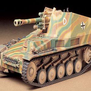 Tamiya German Self-Propelled Howitzer Wespe 1/35 Scale