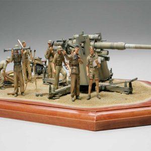 Tamiya German 88mm Gun Flak 36 North Africa 1/35 Scale