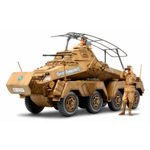 Tamiya German 8-Wheeled Heavy Armored Car Sd.Kfz.232 Africa Corp 1/35 Scale