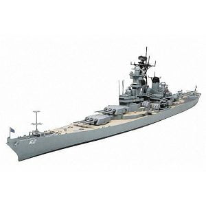 Tamiya US Navy Battleship BB-62 New Jersey 1/700 Scale
