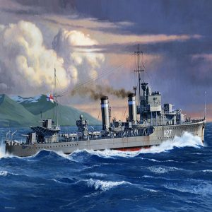 Tamiya British E Class Destroyer 1/700 Scale