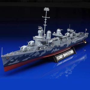 Tamiya US Navy Dd445 Fletcher 1/350 Scale