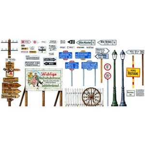 Tamiya Road Sign Set 1/48 Scale