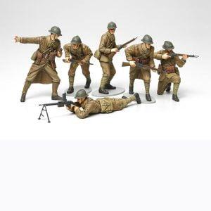 Tamiya WWII French Infantry Set 1/35