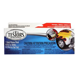 Testors Auto Detail Enamel Paint Set 8 Colors and Thinner