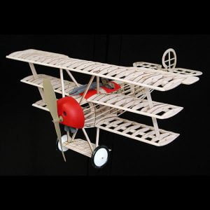 Guillows Fokker DR-1 Triplane 20 Inch Wingspan 204