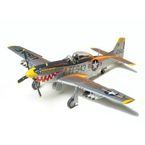 Tamiya F-51D Mustang Korean War 1/48 Scale