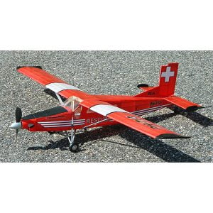Guillows PC-6 Porter 24 Inch Wingspan Laser Cut 304LC