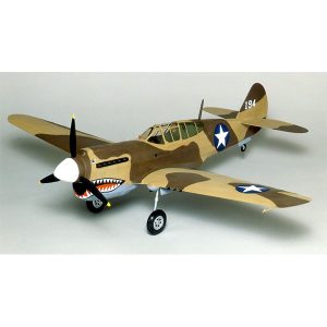 Guillows Curtiss P-40 Warhawk 28 Inch Wingspan Laser Cut 405LC