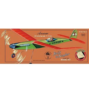 Guillows Arrow 28 Inch Wingspan Laser Cut 702LC