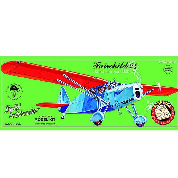 Guillows Fairchild 24 25 Inch Wingspan Laser Cut 701LC