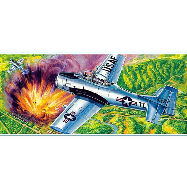 Guillows North American T28D Trojan 16 Inch Wingspan 901