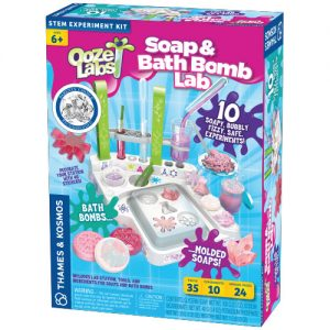 Thames and Kosmos Ooze Labs Soap & Bath Bomb Lab 642107