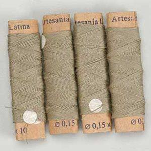 Cotton Rigging Thread Beige 0.15 mm x 40 M 8801
