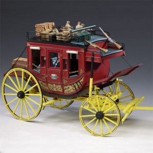 Amati Stage Coach Treasures of the Old West