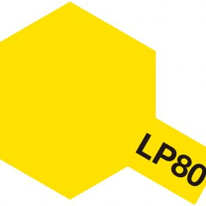 Tamiya Lacquer Paint 82180 LP80 LP-80 Flat yellow