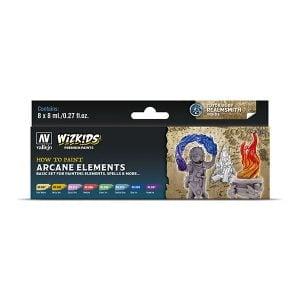 Vallejo Arcane Elements WizKids Premium Paint Set 80258