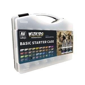 Vallejo Basic Starter Case 40 Colours WizKids Premium Paint Set 80260