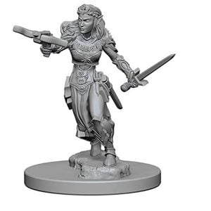WizKids D&D Nolzurs Marvelous Unpainted Miniatures Wave 1 Elf Female Ranger 72638