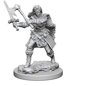 WizKids D&D Nolzurs Marvelous Unpainted Miniatures Wave 1 Human Female Barbarian 72644
