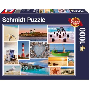 Schmidt 1000 Piece Puzzle By The Sea 58221