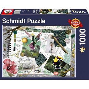 Schmidt 1000 Piece Puzzle Moodboard 58354