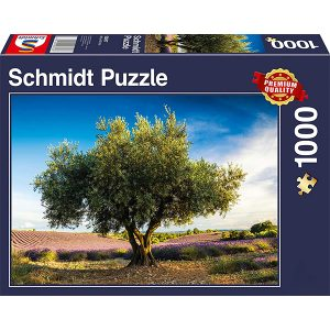 Schmidt 1000 Piece Puzzle Olive Tree in Provence 58357