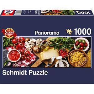 Schmidt 1000 Piece Puzzle Italian Cooking Panorama 58374