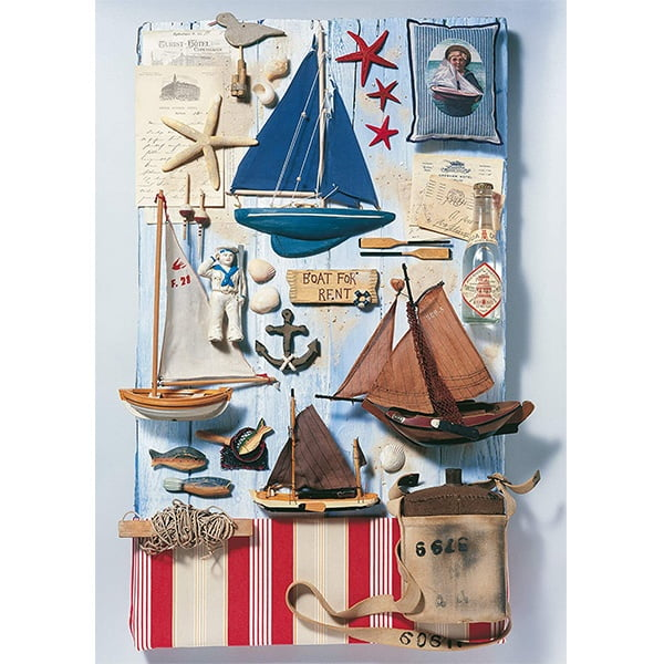 Schmidt 1000 Piece Puzzle Maritime Potpourri 58381