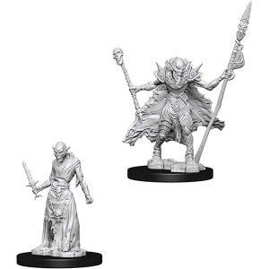 WizKids Pathfinder Battles Deep Cuts Unpainted Miniatures Wave 7 Ghouls 73548