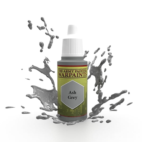 The Army Painter Acrylic Warpaint Ash Grey WP1117