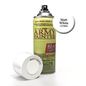 The Army Painter Matte White Spray CP3002