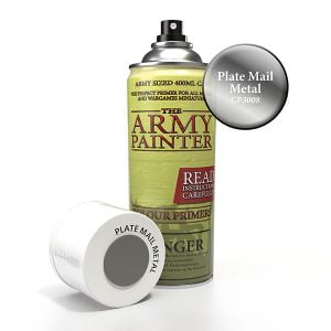 The Army Painter Plate Mail Metal Spray CP3008