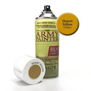 The Army Painter Desert Yellow Spray CP3011
