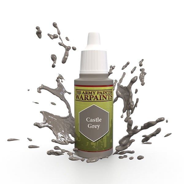 The Army Painter Acrylic Warpaint Castle Grey WP1407