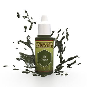 The Army Painter Acrylic Warpaint Elf Green WP1420