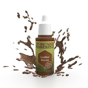 The Army Painter Acrylic Warpaint Leather Brown WP1123