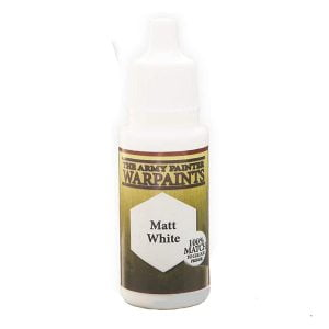 The Army Painter Acrylic Warpaint Matt White WP1102