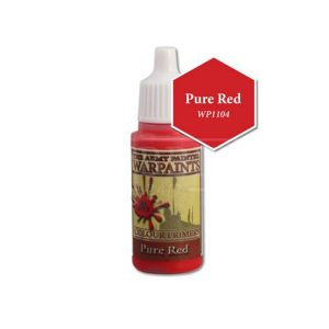 The Army Painter Acrylic Warpaint Pure Red WP1104