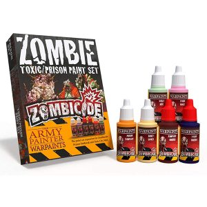 The Army Painter Zombicide Toxic Prison Expansion Paint Set WP8008