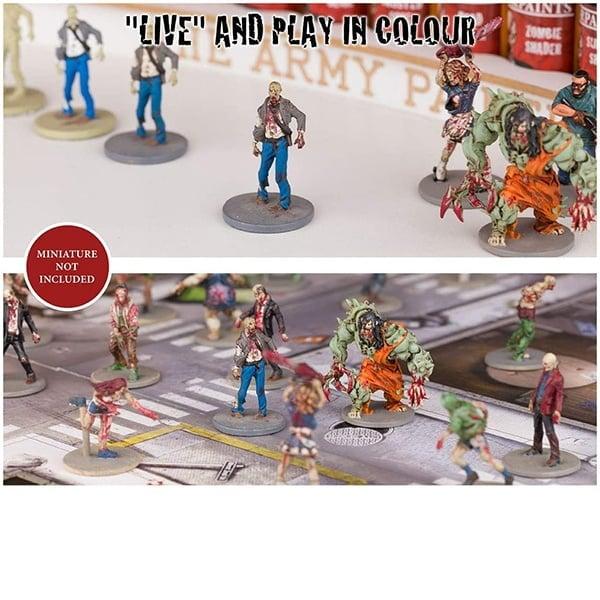 The Army Painter Zombicide Toxic Prison Expansion Paint Set WP8008