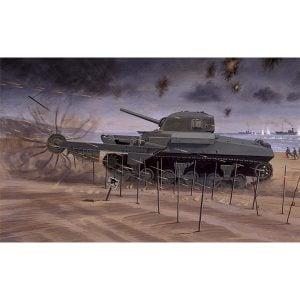 Airfix Sherman Crab Tank 1/76 Scale