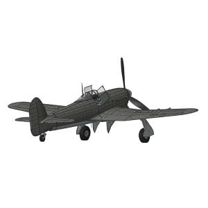 Airfix Hawker Typhoon 1B Car Door 1/24 Scale