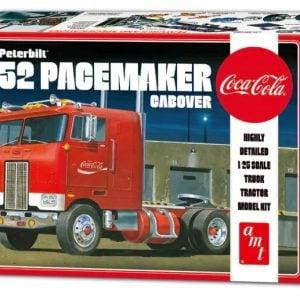AMT Peterbilt 352 Pacemaker Cabover Coca Cola 1/25 Scale 1090