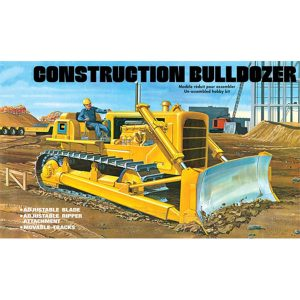 AMT Construction Bulldozer Model Kit 1/25 Scale 1086